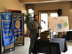 Phillip Brown at Pikeville Rotary Club 6JUN2018 300pxl.jpg
