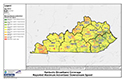 KY Broadband Coverage - Reported Maximum Advertised Downstream Speed