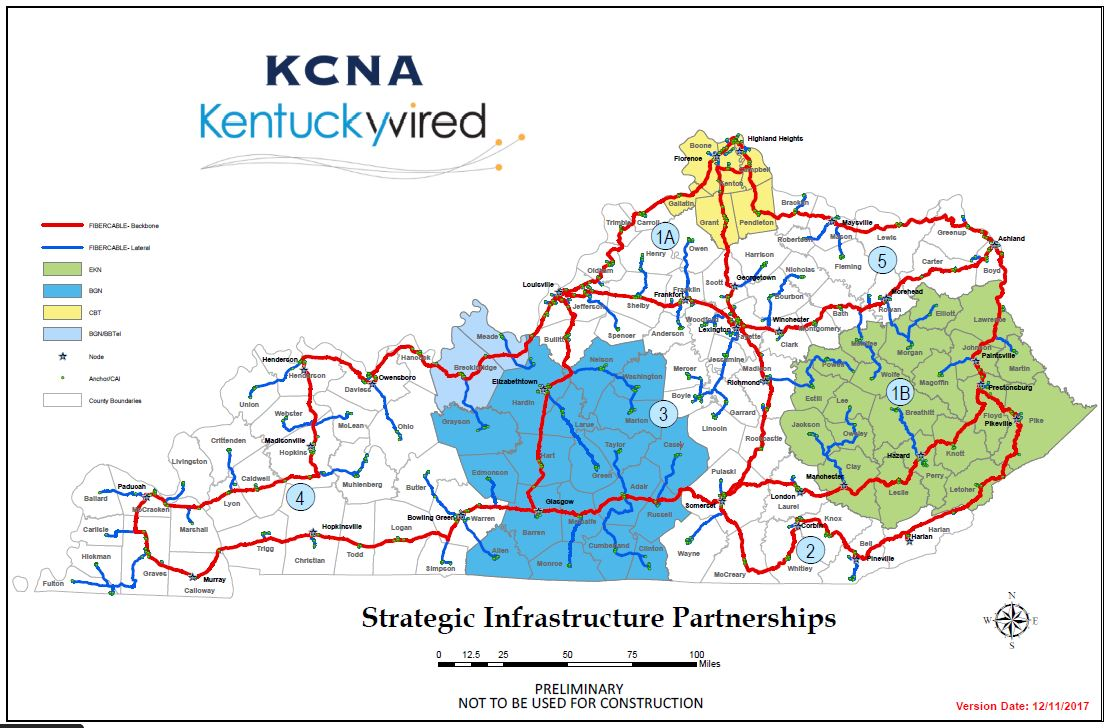 Maps Kentucky Wired - Ky map